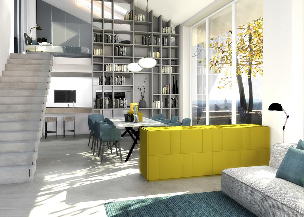 Arredare Lopen Space Un Progetto Di Interior Design Metra