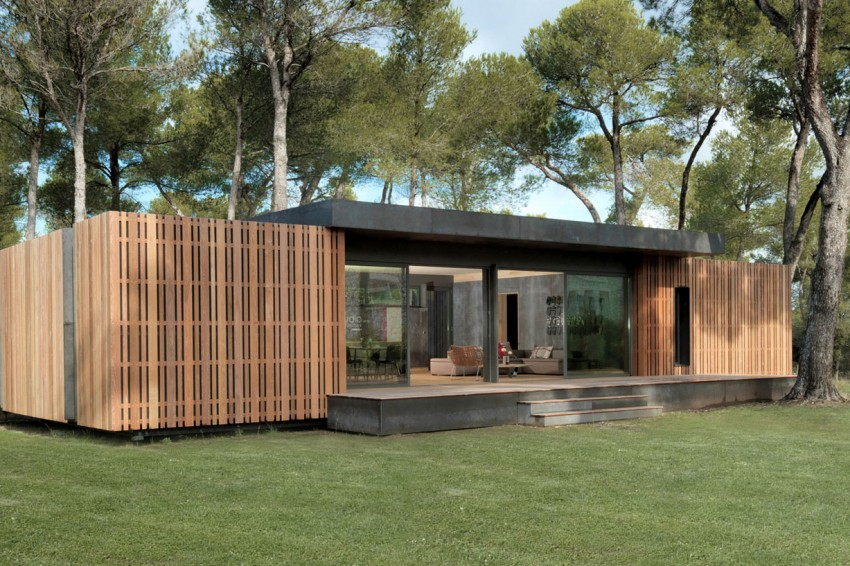 Pop-up House di Multipod Studio – la casa che si monta in 4 giorni