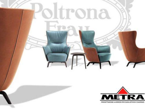 Poltrona Frau – MAMY BLUE – designer Roberto Lazzeroni